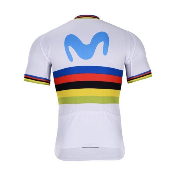 Cyklodres Movistar 2019 UCI zadní strana