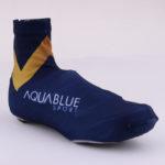Cyklistické návleky na tretry Aqua Blue  pravý bok
