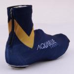 Cyklistické návleky na tretry Aqua Blue  zezadu
