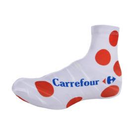 Cyklistické návleky na tretry Tour de France puntíkované