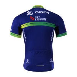 Cyklodres Orica-BikeExchange 2017 zadní strana