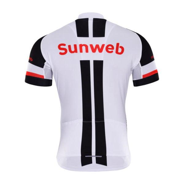 Cyklodres Sunweb 2017 zadní strana