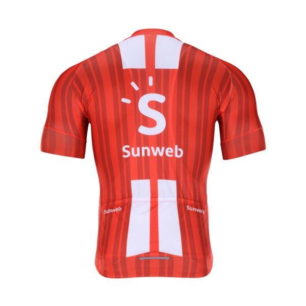 Cyklodres Sunweb 2020 zadní strana