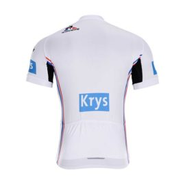 Cyklodres Tour de France 2019 bílý zadní strana