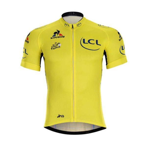 Cyklistický dres Tour de France 2019 žlutý