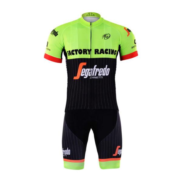 Cyklistický dres a kalhoty Trek-Segafredo 2017