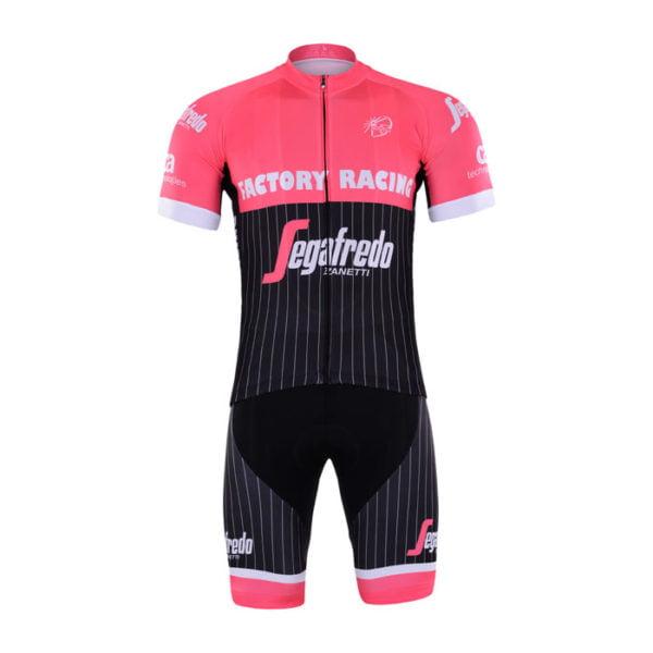 Cyklistický dres a kalhoty Trek-Segafredo 2017 Rose
