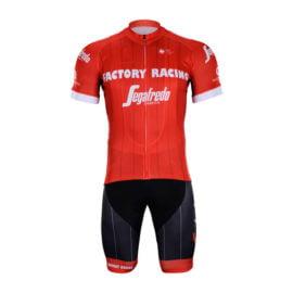 Cyklistický dres a kalhoty Trek-Segafredo 2018 Red