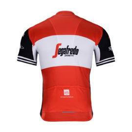 Cyklodres Trek-Segafredo 2019 Red zadní strana