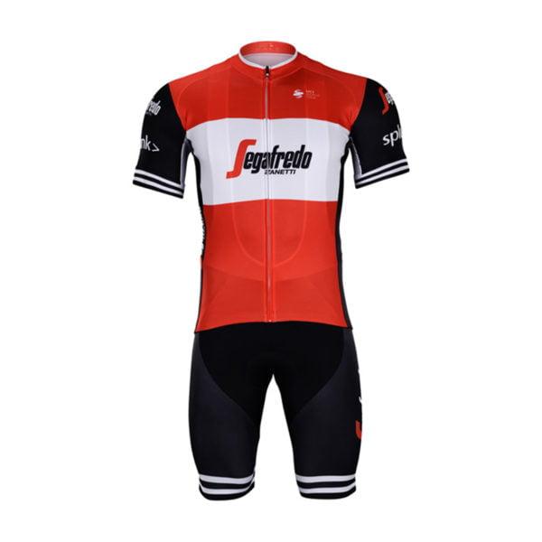 Cyklistický dres a kalhoty Trek-Segafredo 2019 Red