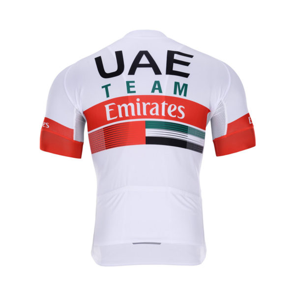 Cyklodres UAE Team Emirates 2020 zadní strana