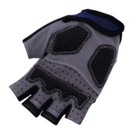 Cyklistické rukavice Aqua Blue 2018 dlaň