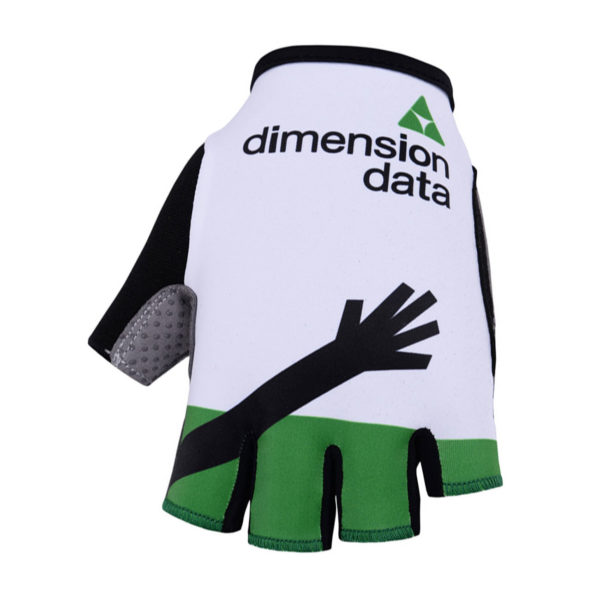 Cyklistické rukavice Dimension Data 2019