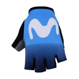 Cyklistické rukavice Movistar 2019