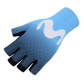 Cyklistické rukavice Movistar 2020
