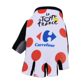 Cyklistické rukavice Tour de France puntíkované 2019