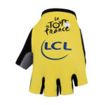 Cyklistické rukavice Tour de France žluté 2019