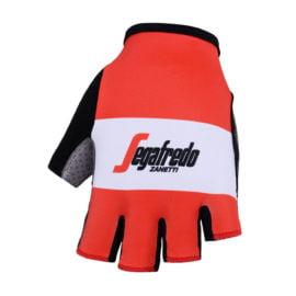 Cyklistické rukavice Trek-Segafredo Red 2019