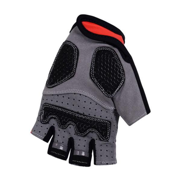 Cyklistické rukavice Trek-Segafredo Red 2019 dlaň