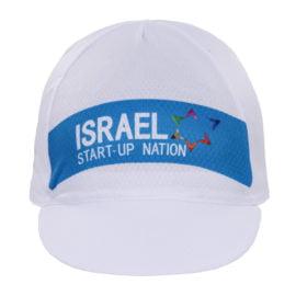 Cyklistická čepice s kšiltem Israel Cycling Academy 2020