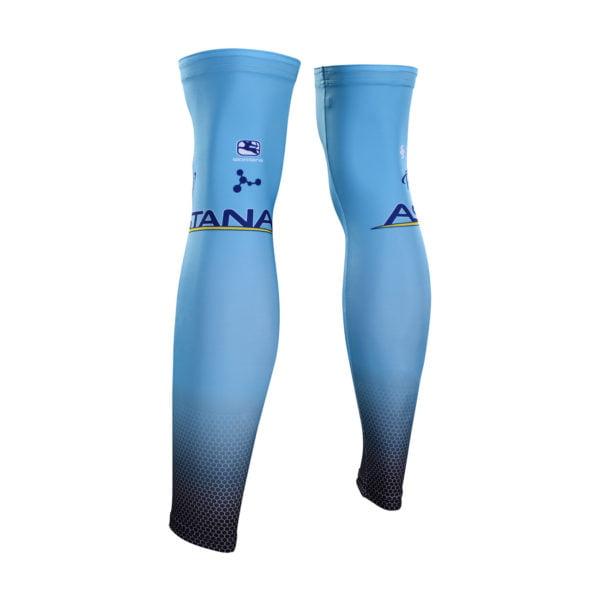 Cyklistické návleky na nohy Astana 2019 zadní strana