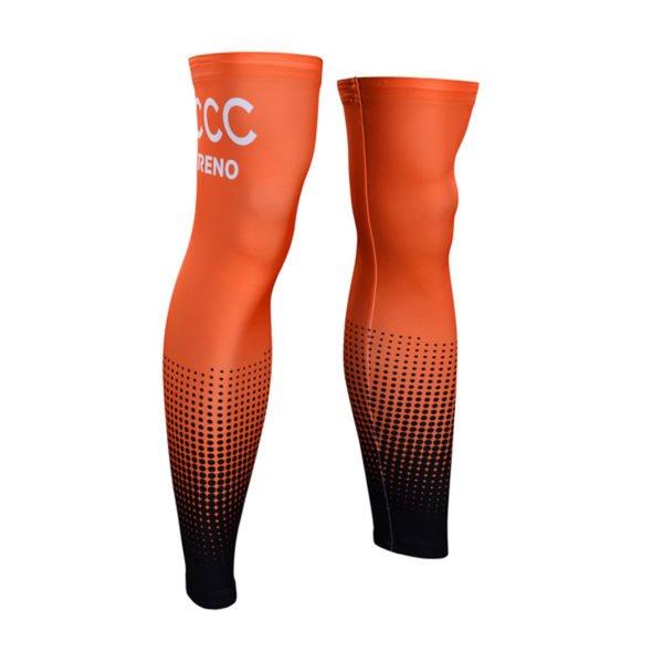 Cyklistické návleky na nohy CCC 2019