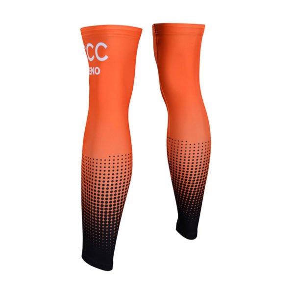 Cyklistické návleky na nohy CCC 2019 zadní strana