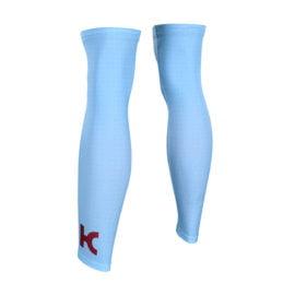 Cyklistické návleky na nohy Katusha-Alpecin 2019 zadní strana