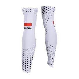 Cyklistické návleky na nohy Lotto-Soudal 2019 zadní strana
