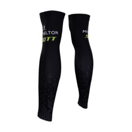 Cyklistické návleky na nohy Mitchelton-Scott 2019 zadní strana