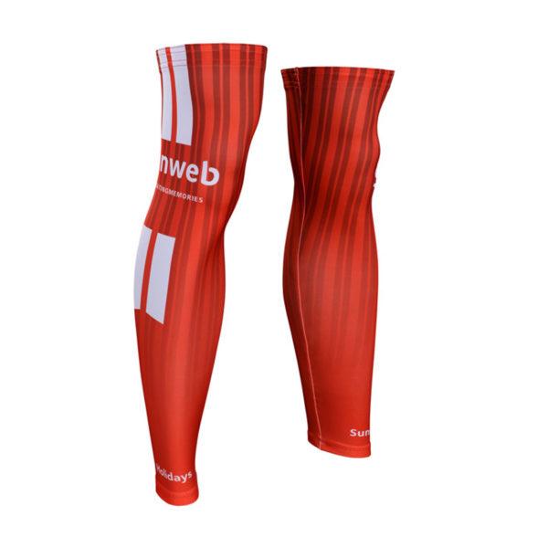 Cyklistické návleky na nohy Sunweb 2019