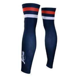 Cyklistické návleky na nohy Trek-Segafredo 2020 zadní strana