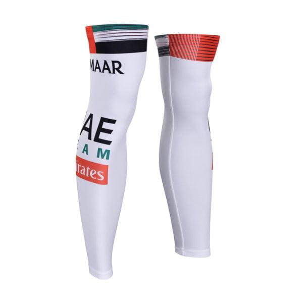Cyklistické návleky na nohy UAE Team Emirates 2019
