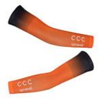 Cyklistické návleky na ruce CCC 2020