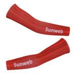 Cyklistické návleky na ruce Sunweb 2020