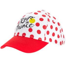 Kšiltovka Tour de France puntíkovaná