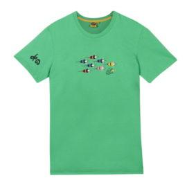 Triko Tour de France dětské zelené