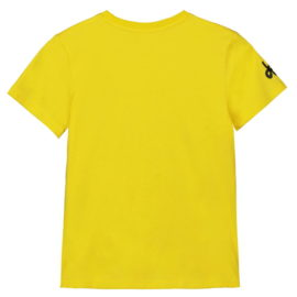 Triko Tour de France dětské žluté záda