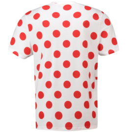 Triko Tour de France puntíkované záda