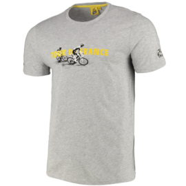 Triko Tour de France šedé