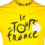 Triko Tour de France žluté logo