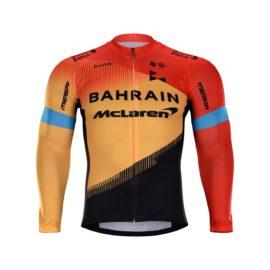 Cyklistická bunda zimní Bahrain McLaren 2020