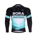 Cyklistická bunda zimní Bora-Hansgrohe 2020