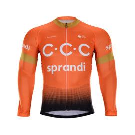 Cyklistická bunda zimní CCC 2020