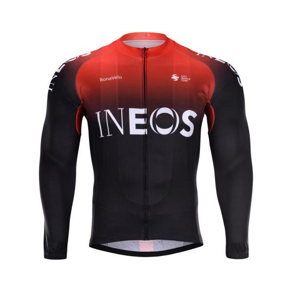Cyklistická bunda zimní Ineos 2020