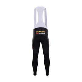 Zimní kalhoty na kolo Lotto-Jumbo 2020 Visma zadní strana