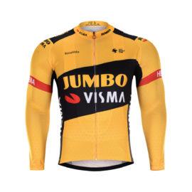 Cyklistická bunda zimní Lotto-Jumbo 2020 Visma