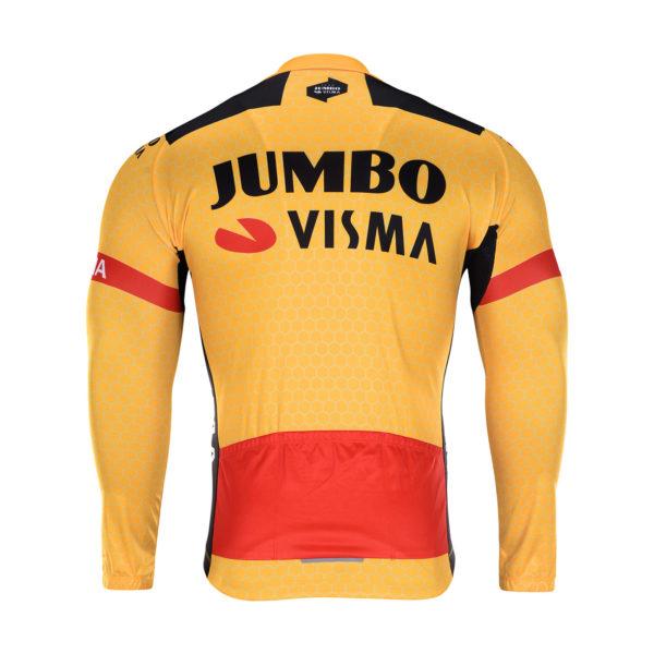 Cyklobunda zimní Lotto-Jumbo 2020 Visma zadní strana