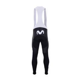 Zimní kalhoty na kolo Movistar 2020 zadní strana