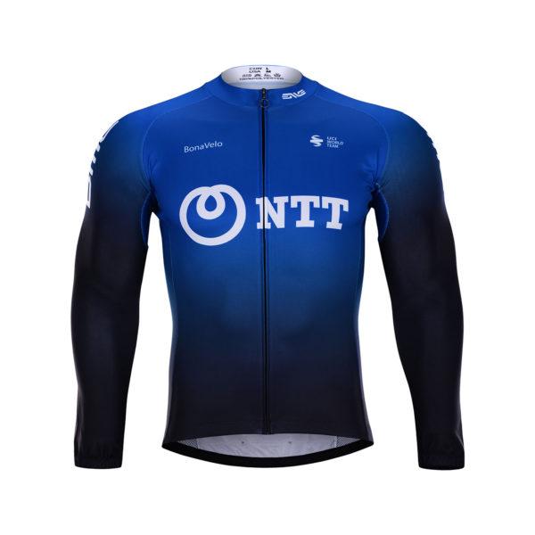 Cyklistická bunda zimní NTT 2020